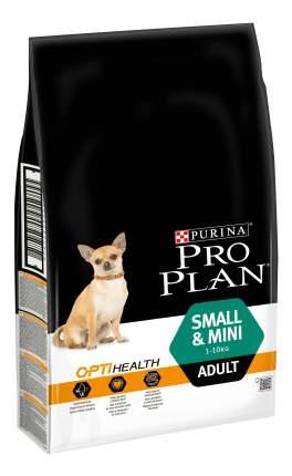 Сухой корм для собак PRO PLAN OptiHealth Small & Mini Adult, для мелких пород, курица, 7кг