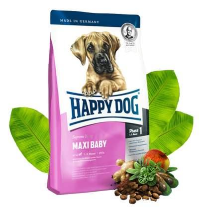 Сухой корм для щенков Happy Dog Supreme Young Maxi Baby, для крупных пород, птица, 15кг