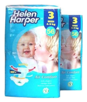 Подгузники Helen Harper Air Comfort 3 (4-9 кг), 56 шт.