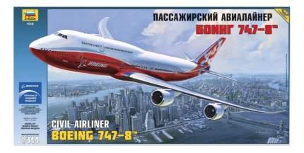 Модель для сборки Zvezda Боинг 747-8
