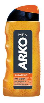 Гель для душа ARKO MEN Max Energy 250 мл