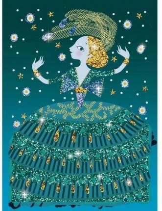 Раскраска с блестками DJECO Блестящие платья (9500)