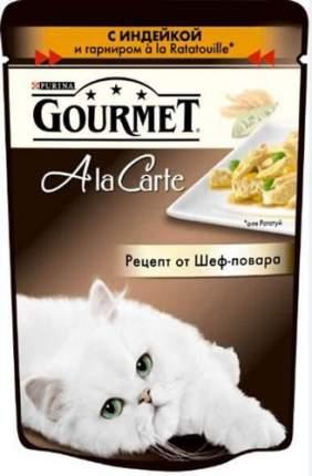 Влажный корм для кошек Gourmet A la Carte, индейка, 85г