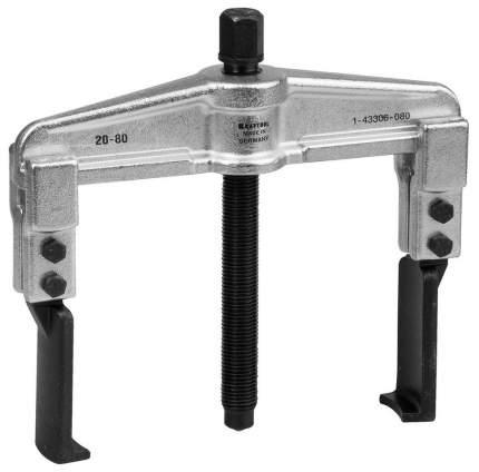 Съёмник подшипников KRAFTOOL 2-захватный для труднодост услов, внешн 20-80мм
