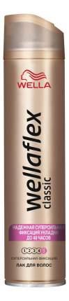 Лак для волос Wella Wellaflex Сlassic сверхсильная фиксация, 250 мл,