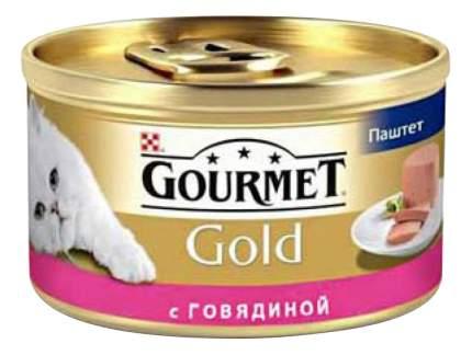 Консервы для кошек Gourmet Gold, говядина, овощи, 85г