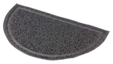 Коврик для кошачьего туалета TRIXIE полукруглый, антрацит (41 х 25 см)
