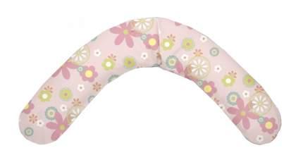 Подушка-трансформер для кормления Theraline Цветы розовая