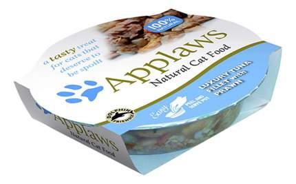 Консервы для кошек Applaws, тунец, креветки, 60г