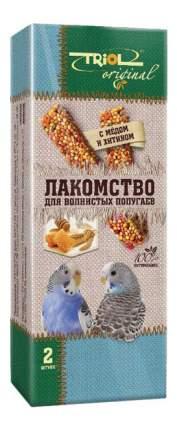 Лакомство для волнистых попугаев Triol с мёдом и хитином, 2 шт