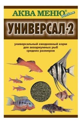 Корм для рыб Aquamenu, хлопья, 30 г, 1 шт