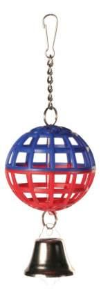 Подвеска для птиц Trixie, Пластиковый шар с колокольчиком