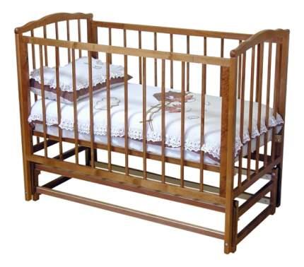 Кровать Красная звезда С-614 Кристина красно-коричневая
