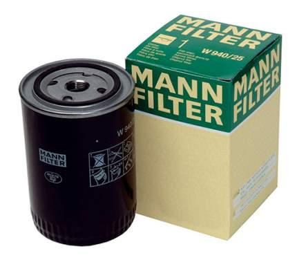 Фильтр масляный двигателя MANN-FILTER W712/95