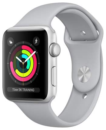 Смарт-часы Apple Watch Series 3 38mm Silver Al/Fog Band (MQKU2RU/A)