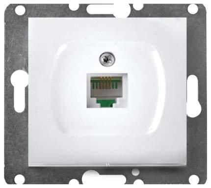 Розетка компьютерная одноместная Volsten V01-11-C11-M