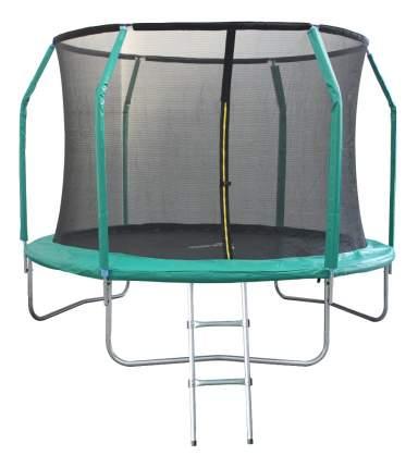 Батут Sportelite GB10211-10FT с сеткой и лестницей 305 см, black/green