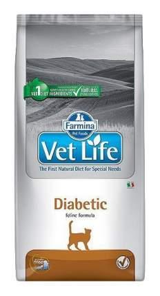 Сухой корм для кошек Farmina Vet Life Diabetic, при сахарном диабете, курица, 0,4кг