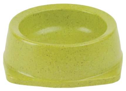 Одинарная миска для кошек и собак Triol, пластик, зеленый, 0.7 л