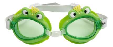 Очки для плавания Joerex в форме лягушки SSM1801 зеленые/зеленые