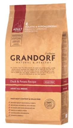 Сухой корм для собак Grandorf Adult All Breeds, утка, 1кг
