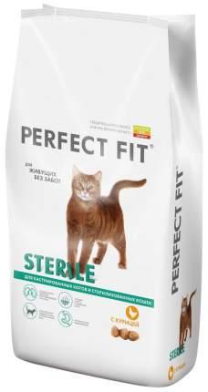Сухой корм для кошек Perfect Fit Sterile, для стерилизованных, курица, 3кг