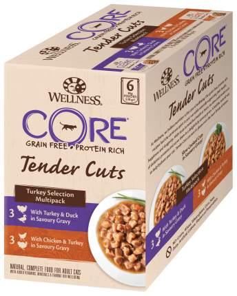 Влажный корм Wellness Core для кошек с нежными кусочками индейки в паучах - 85 г