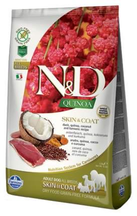 Сухой корм для собак Farmina N&D Quinoa Skin & Coat, утка и киноа, 2,5кг
