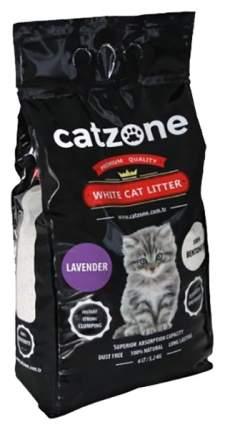 Комкующийся наполнитель для кошек Catzone Lavender бентонитовый, лаванда, 10 кг, 30 л