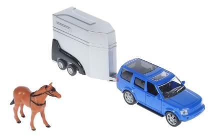 Внедорожник HTI Джип с прицепом для лошади