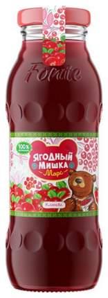 Морс Ягодный Мишка Клюква с 3 лет 200 мл