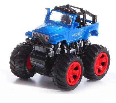 Джип инерционный с большими колесами Gratwest В61650