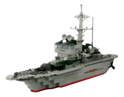 Конструктор Военный корабль 228 деталей Gratwest Г30043