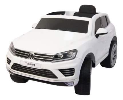 Электромобиль Volkswagen Touareg белый RIVERTOYS
