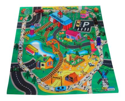 Набор машинок с ковриком My Dream Mat Ферма Shenzhen Toys В43803