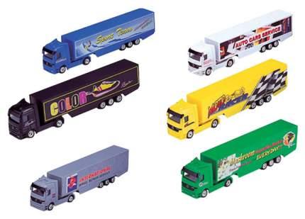 Модель грузовика 72131 Welly 1:87 Mercedes-Benz Actros