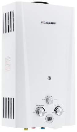 Газовая колонка Edisson F 20 D white