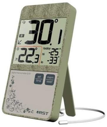 Цифровой термометр RST 02157 в стиле iPhone 4 Болотный