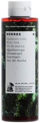 Гель для душа Korres Мятный чай
