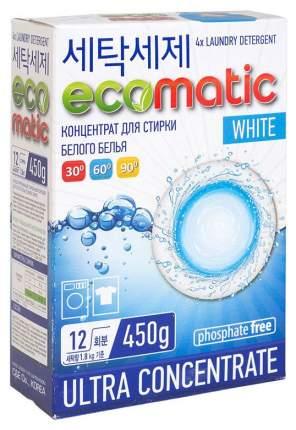 Порошок для стирки Ecomatic для белого белья 450 г