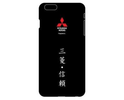 Пластиковый чехол-крышка для iPhone 5/5s Mitsubishi RU000024