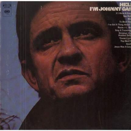 Виниловая пластинка Johnny Cash HELLO, I'M JOHNNY CASH (180 Gram)