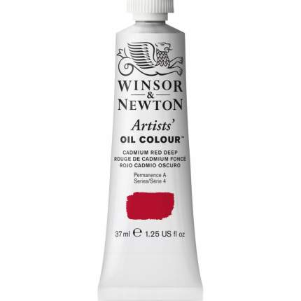 Масляная краска Winsor&Newton Artists красный кадмий 37 мл