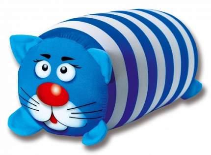 Игрушка-антистресс СПИ Кот полосатый бело-голубой