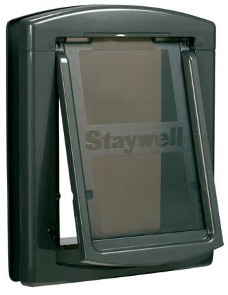Дверца для собак StayWell 860, темно-серая, 29,1х42,9см