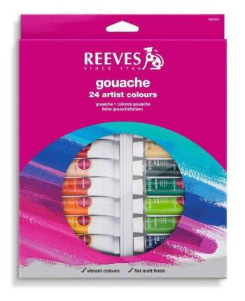 Гуашь Reeves 24 цвета