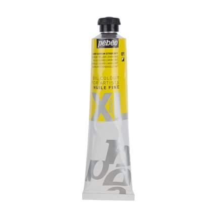 Масляная краска Pebeo XL кадмий лимонный 980001 80 мл