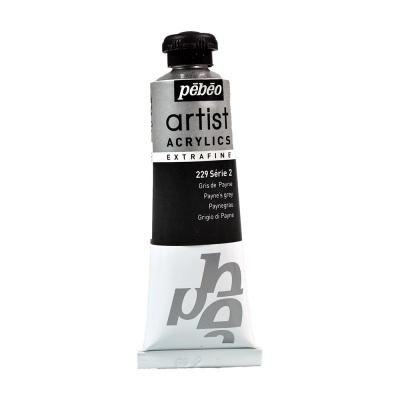 Акриловая краска Pebeo Artist Acrylics extra fine №2 серая пейна 37 мл