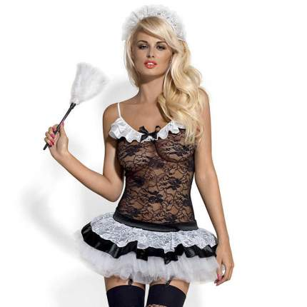 Костюм горничной Obsessive Housemaid S-M