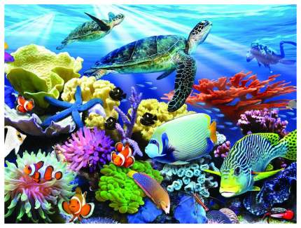 "Пазл ""Super3D. Жизнь на рифе"", 48 деталей"